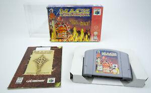 Nintendo 64 * Mage: the Dark Age * n64 OVP instrucciones schutzh NTSC-u/C FSK 18