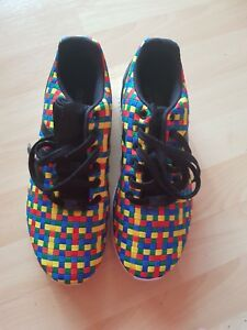 check out 648fb 96ef8 Details about ADIDAS ZX FLUX WOVEN S78345 MENS TRAINERS BRAND NEW SIZE UK  7.5 RAINBOW