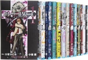 DEATH-NOTE-Vol-1-13-Manga-complete-Lot-Set-Comic-Japanese-Edition-from-Japan