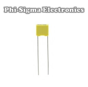 Mini-Polyester-Box-Capacitors-1nF-to-470nF-Various-Voltages-Pack-Sizes