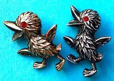 Einfach Nur Glücklich um zu Alive Freudige Vintage 50er jahre Baby Vogel Brosche