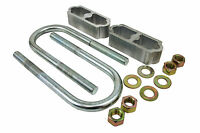 1960-72 Chevy Truck Lowering Block Kit, 2, For Coil Spring Suspension Only