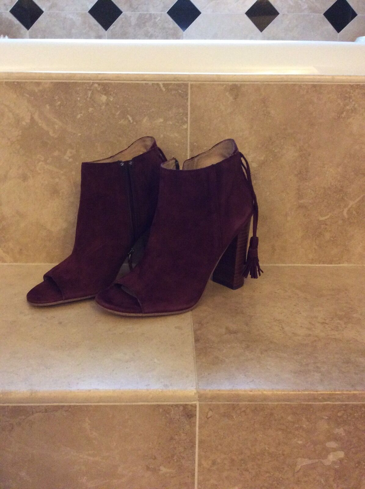 Halogen Boots Ankle Booties Size 6.5