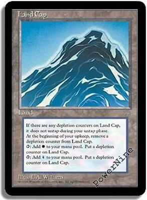 4 Glacial Chasm ~ Land Ice Age Mtg Magic Uncommon 4x x4