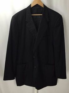 Tom-James-Executive-Collection-2-Btn-Pinstripe-Blazer-Sport-Coat-Jacket-Bspk-48R