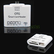 5in1 OTG Card Reader Connection Kit For Samsung Galaxy S6 S5 LG G4 V10 LS770