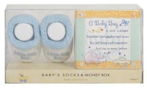 LITTLE-BABY-BOY-SOCK-Money-Box-Set