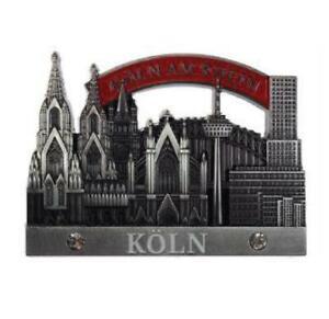 Koeln-Cologne-Dom-Collage-3D-Metall-Fridge-Magnet-Souvenir-Germany-edel