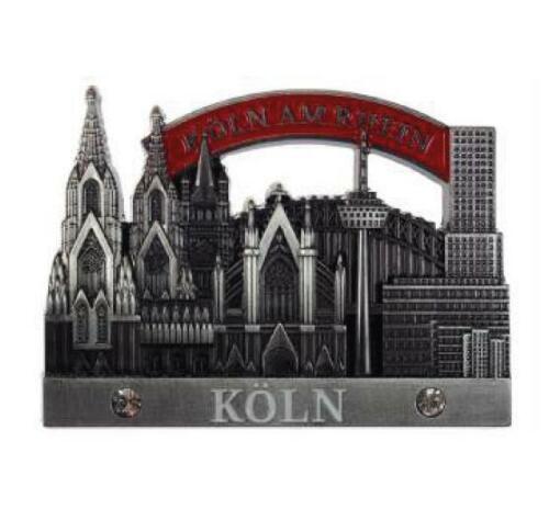 Köln Cologne Dom Collage 3D Metall Fridge Magnet Souvenir Germany,edel !