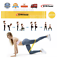 miniatuur 11 - RESISTANCE BANDS SET OR SINGLES - LATEX EXCERCISE GLUTES YOGA PILATES HOME GYM