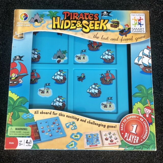 Plastic toy hide seek pirates intellect funny puzzle play lost and found game