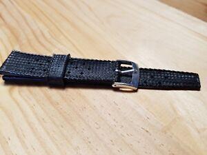 NOS-20-mm-width-TROPIC-style-black-rubber-bracelet