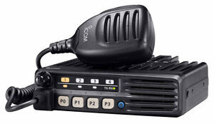 Icom-IC-F5012-25-Watt-Vhf-Portable-Taxi-Vehicule-ou-Radio-de-Base-Gratuit