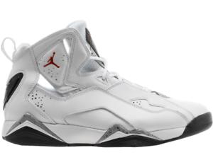 b1f76e1a33f429 Nike Men s Air Jordan True Flight Basketball Sneakers Shoes White ...