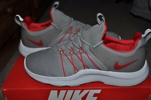 NIKE DARWIN / RED/ GRAY - WHITE SIZE 8