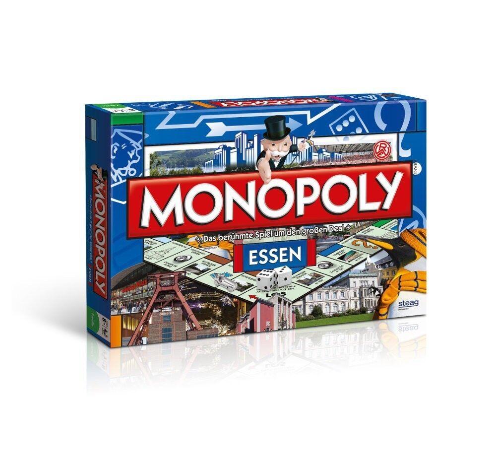 Monopoly manger jeu de plateau jeu de société (catégorie B emballage endommagé)