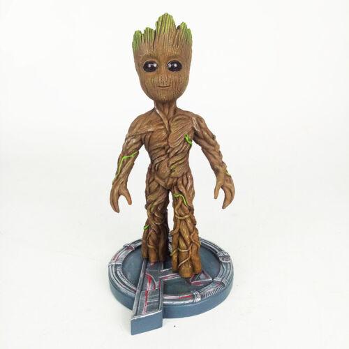 Baby Groot Cosplay Venom Deadpool Thor Hulk Resin Statue Toys Kids Xmas Gift UK