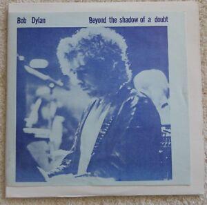 BOB DYLAN - BEYOND THE SHADOW OF A DOUBT - 2 VINYL LP