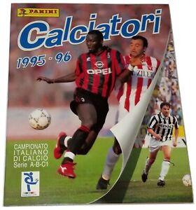 Calciatori-1995-96-Album-Vuoto-Panini-Lire-2000