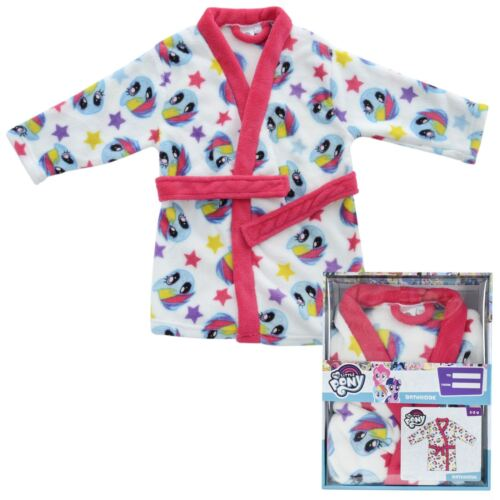 My Little Pony Kids Girls Dressing Gown Bathrobe Rainbow Dash Print Boxed Gift