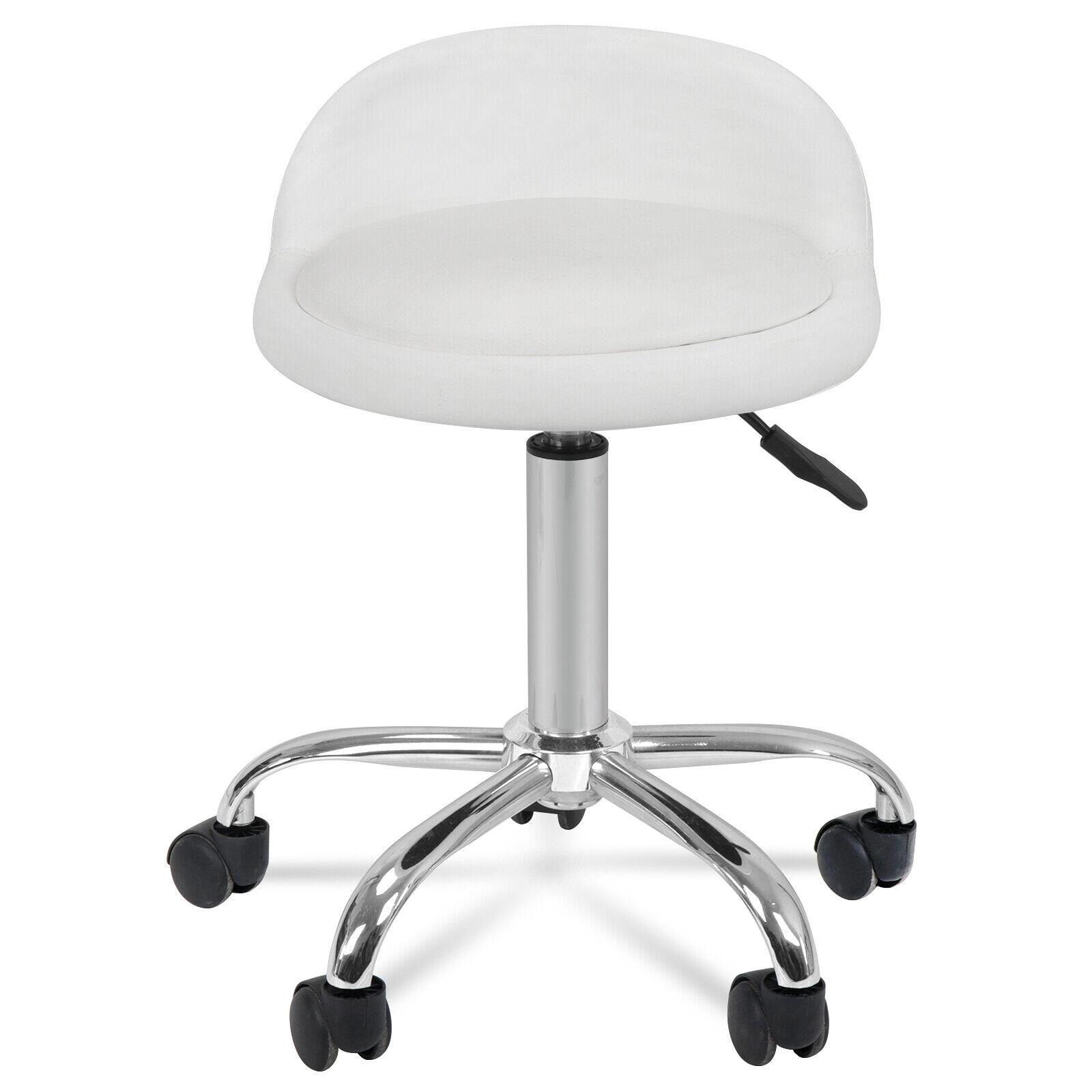 spa salon stool with back rest hydraulic