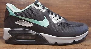 watch 44776 8d17e Image is loading WOMENS-NIKE-ID-AIR-MAX-90-HYPERFUSE-BLACK-