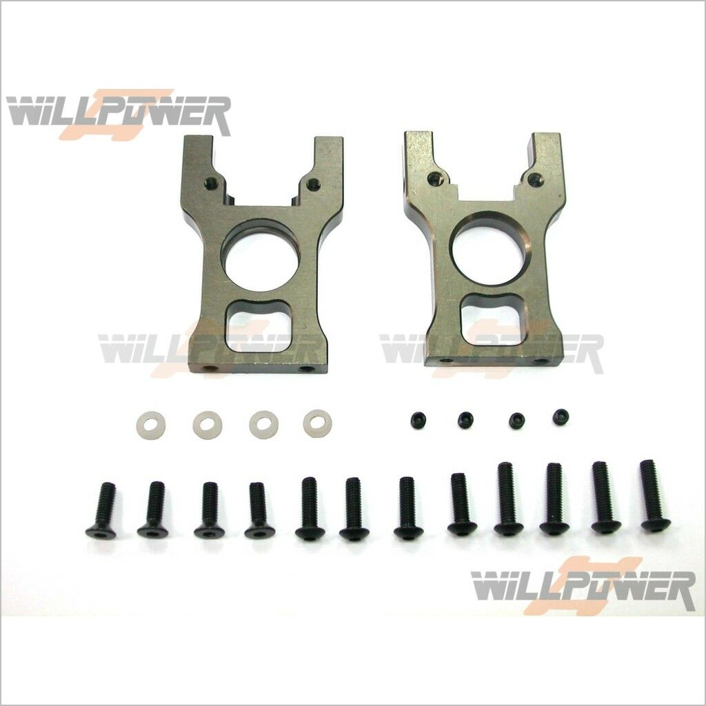 CNC Alum.  Center Diff. Mount set  TMS-12 (RC-Willenergia) Hongnor Jammin  buon prezzo