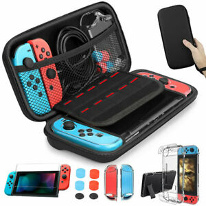 Carrying Bag Case Cover Glass Screen Protector Accessories For Nintendo Switch