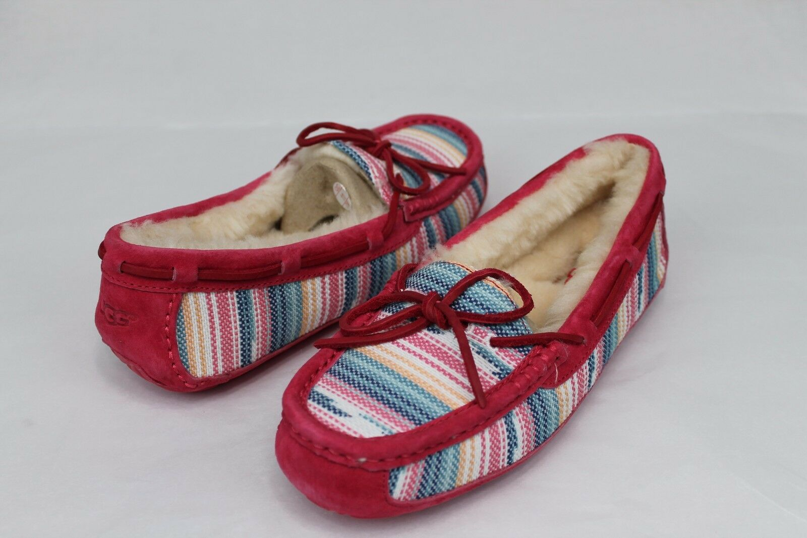 5c678f89b80 Awesome UGG Australia Size 7 US Symona Serape Striped Slippers in Pink