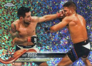 2018 TOPPS UFC CHROME DIAMOND REFRACTOR RAY BORG #10   eBay