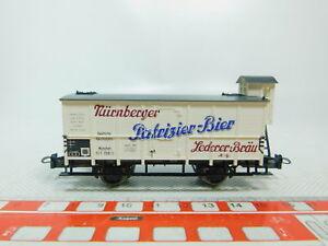 BM201-0-5-Trix-Int-H0-DC-23523-Bierwagen-Patrizier-Bier-DRG-NEM-NEUW