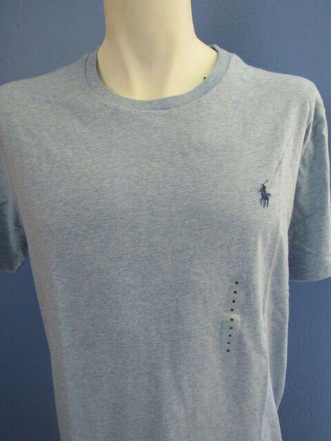 69398bb2 Polo Ralph Lauren T-shirt Mens Crew Neck Tee Standard Fit Pony Logo ...