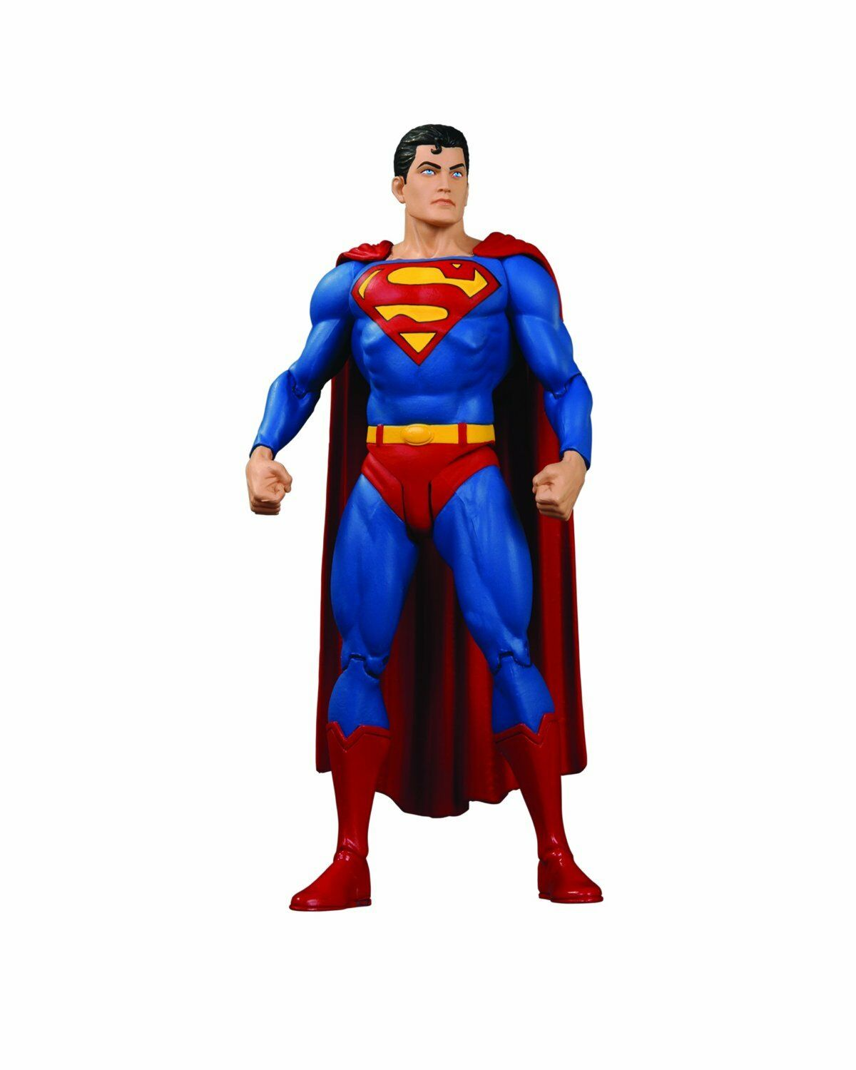 Jla classic icons superman in action - figur dc direkte spielzeug