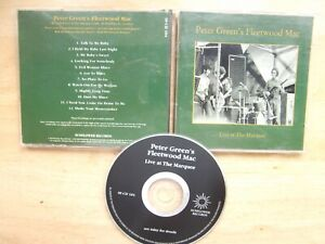 Peter-Green-039-s-Fleetwood-Mac-CD-Album-Live-At-The-Marquee-SF-CD-104-RECEIVER