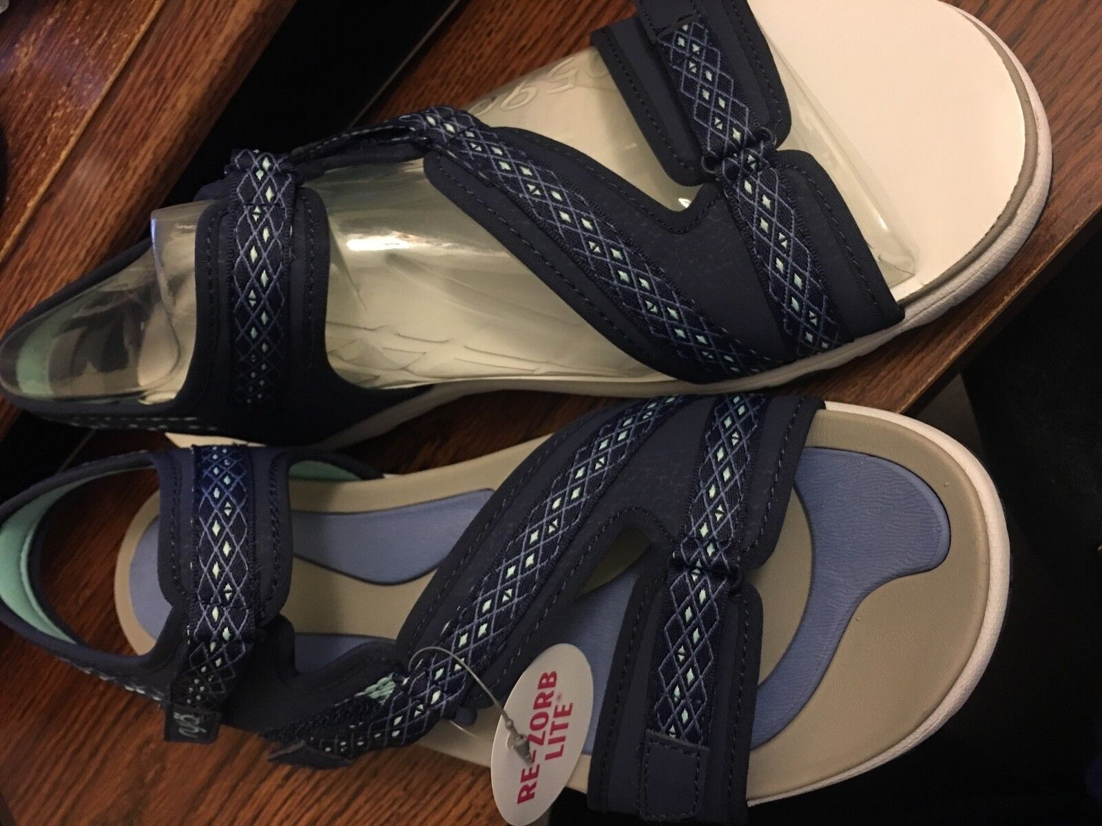 Ryka Women's Savannah Sandal Navy bluee Sports Sneaker Sandals sz 11M