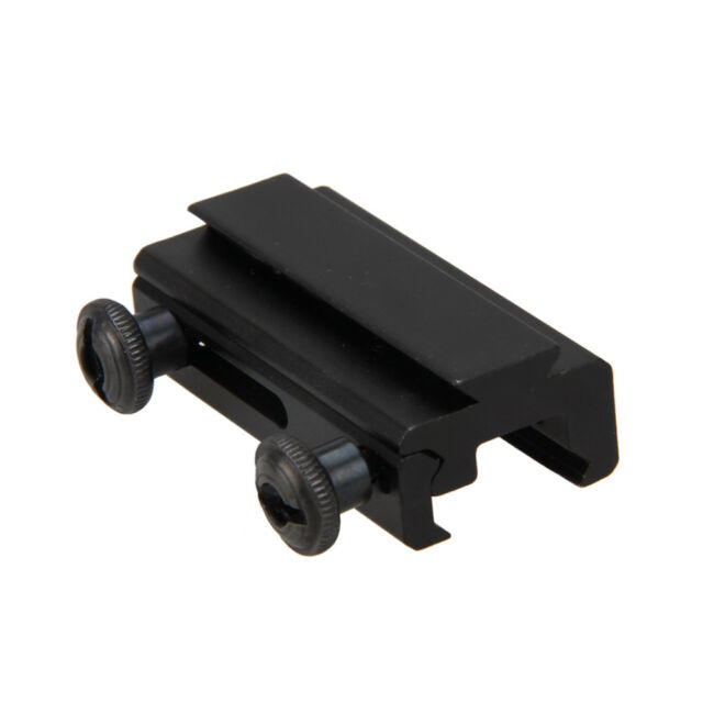 Picatinny Rail Scope Mount Base Adapter 20mm Dovetail To 11mm Weaver Extension