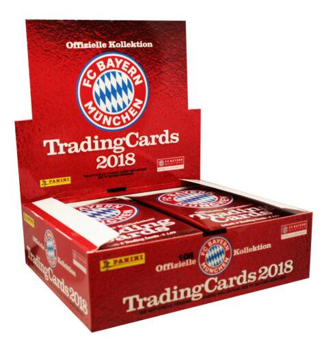 Starter Panini-fc bayern munich 2018-trading cards-display Booster escoger
