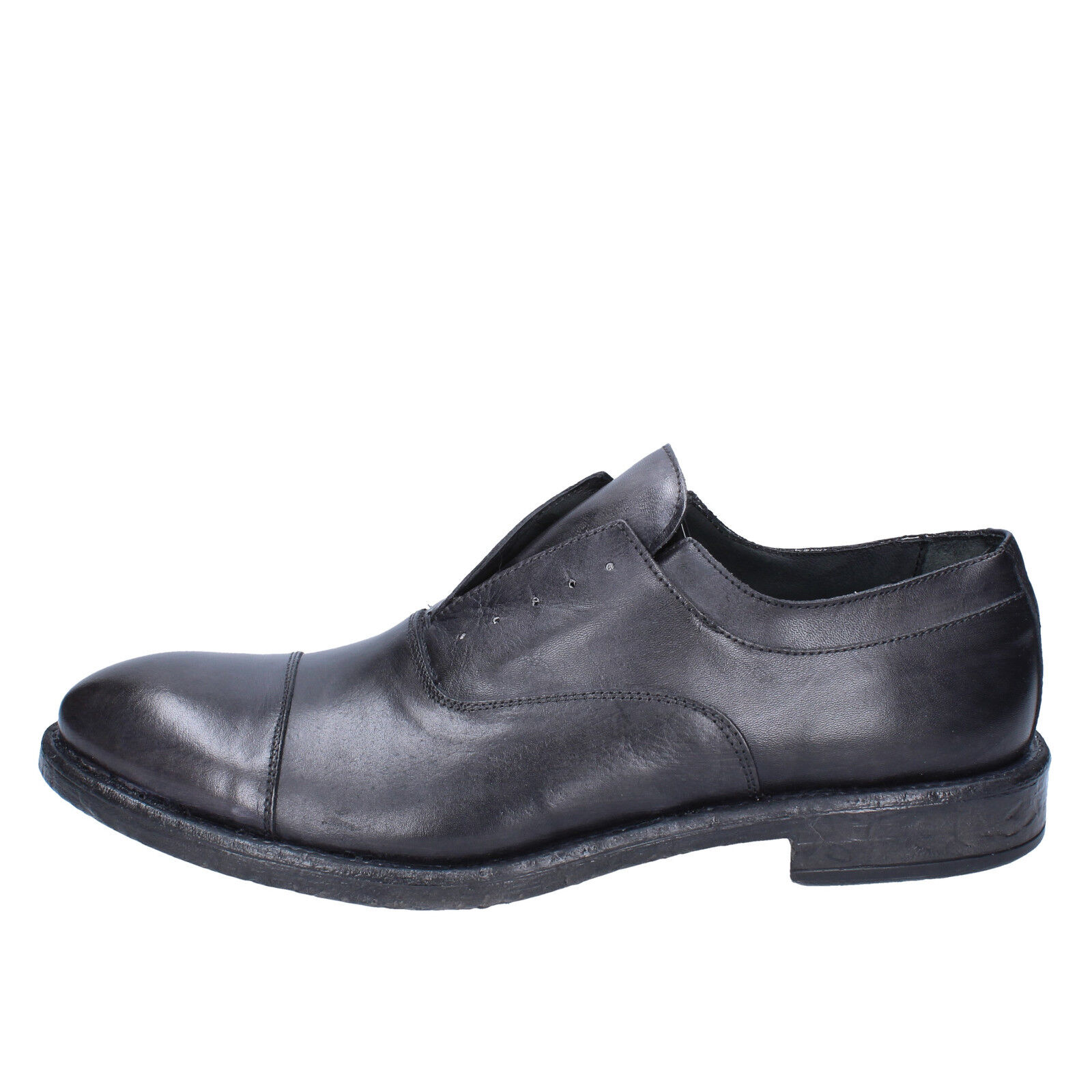 cdb12170ef0 men s shoes +2 MADE IN ITALY 10 () () () elegant dark gray leather ...