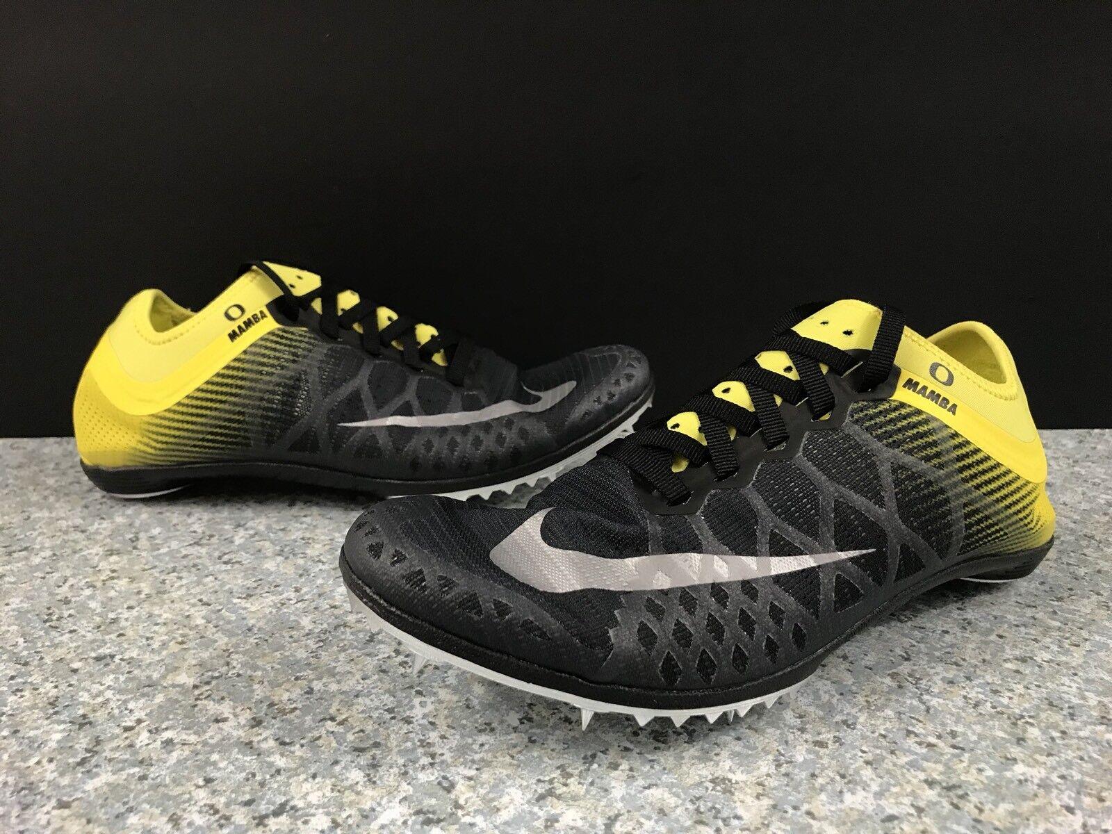 Nike Zoom Mamba 3 Oregon Ducks Hombre zapatos de la precio pista negro amarillo comodo precio la de temporada corta, beneficios de descuentos b13f40