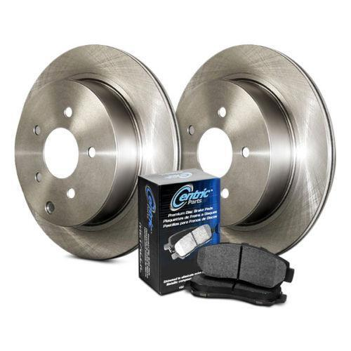Rear Brake Pads and Rotors Plain Low Dust Low Noise Kit 908.66506