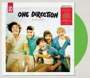 One Direction 1D - Up All Night Exclusive Limited Green Colored Vinyl LP