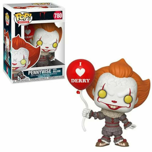 PENNYWISE W// BALLOON 780 40630 VINYL IN STOCK IT CHAPTER 2 MOVIES FUNKO POP