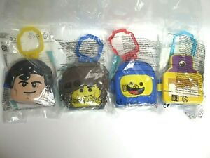 4-x-Toys-McDonald-039-s-Russia-Happy-Meal-2019-The-Lego-Movie-2-The-Second-Part-NEW