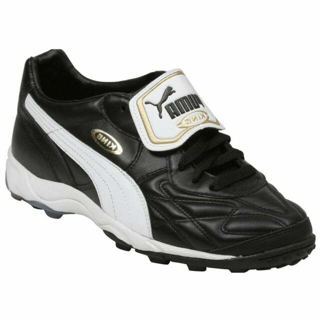 Puma King Allround TT  Casual Soccer  Cleats Black Mens - Size 6 D