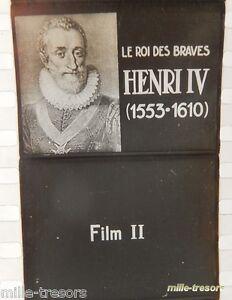 Film-documentaire-Ecole-HENRI-IV-Roi-Film-II-Editeur-O-S-E-F-Noir-amp-Blanc