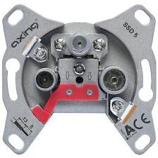 AXING SSD 5-07 Universal-Enddose mit 7 dB Anschlussdämpfung, für CATV, SAT