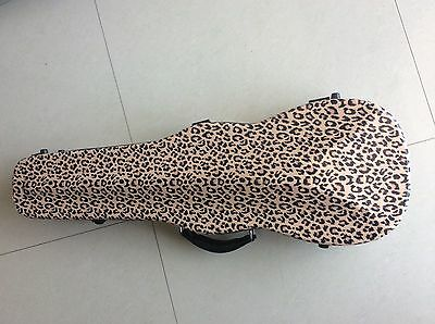 New Violin Case For 4/4 Size Violin Carbon Fiber Glass Material Agreeable Sweetness Musical Instruments & Gear Equipment