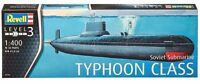Revell Germany Soviet Cold War Submarine Typhoon Class Model Kit 1/400