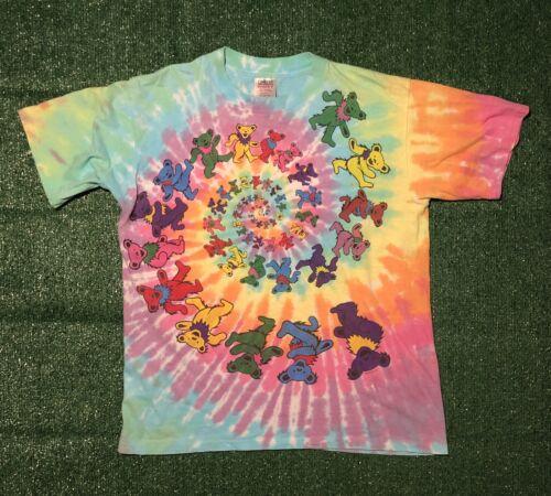 vintage grateful dead tie dye shirt Spiral Oneita