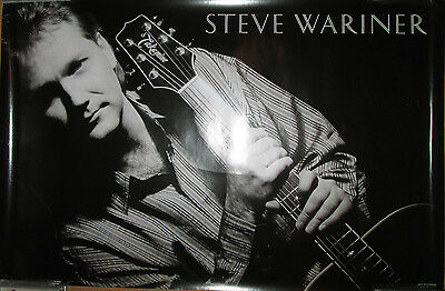 STEVE WARINER 1988 MCA promotional poster country 23x35 EX